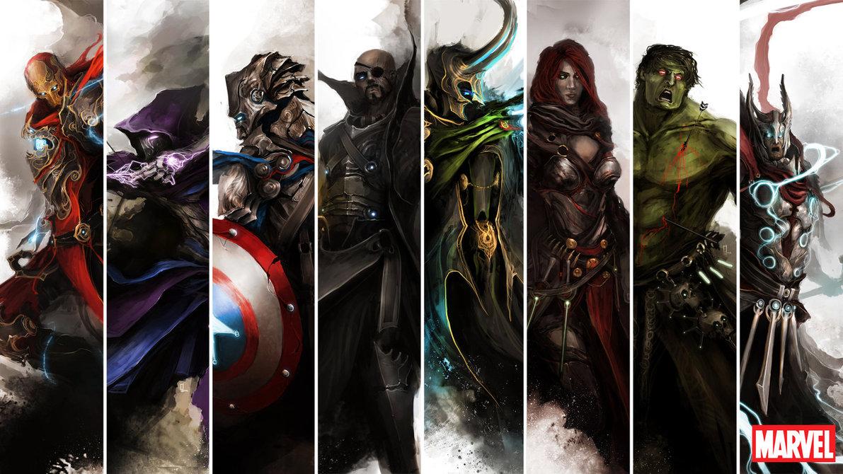 Medieval Avengers_Pixelsmithstudios