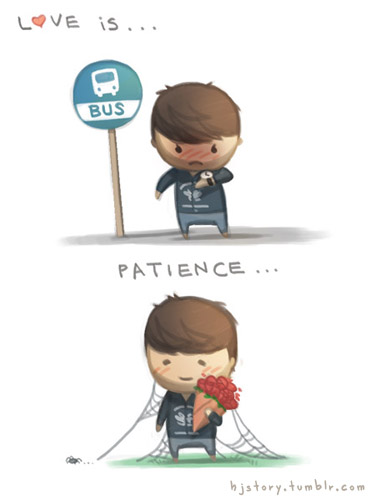 Love is... patience - HJStory