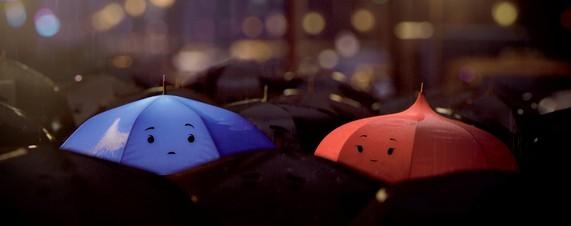 Pixar's 'The Blue Umbrella' Short Animation Film