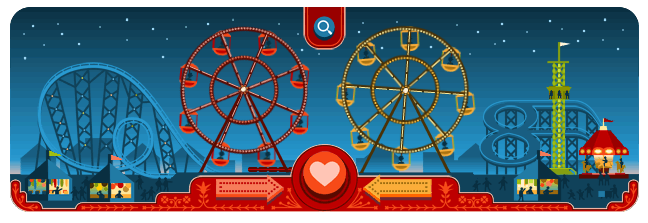 Ferris Wheels of Love - Valentines Day - Google