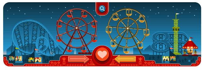 Ferris Wheels of Love - Valentines Day - Google