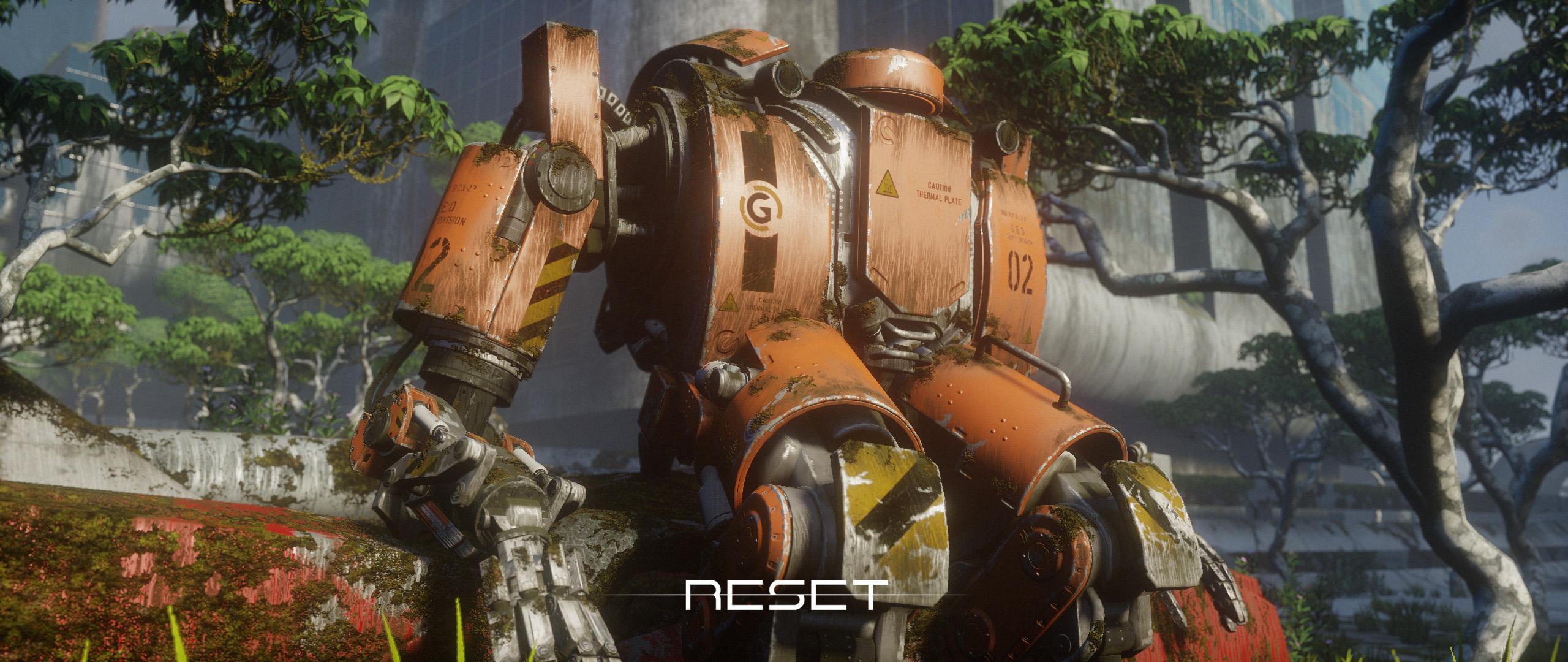 Reset Game Cinematic - Pixelsmithstudios