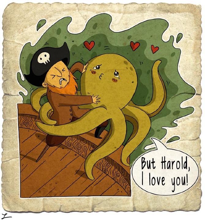 Leigh Lahav - Octopussy love