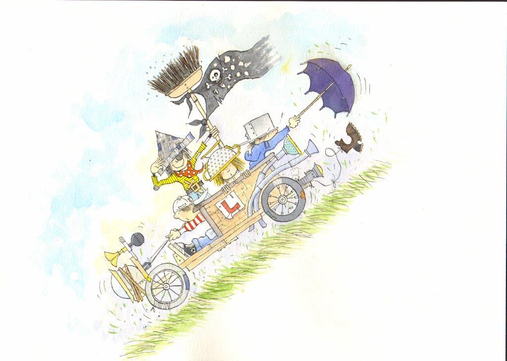 Go Kart Children - Eric Heyman