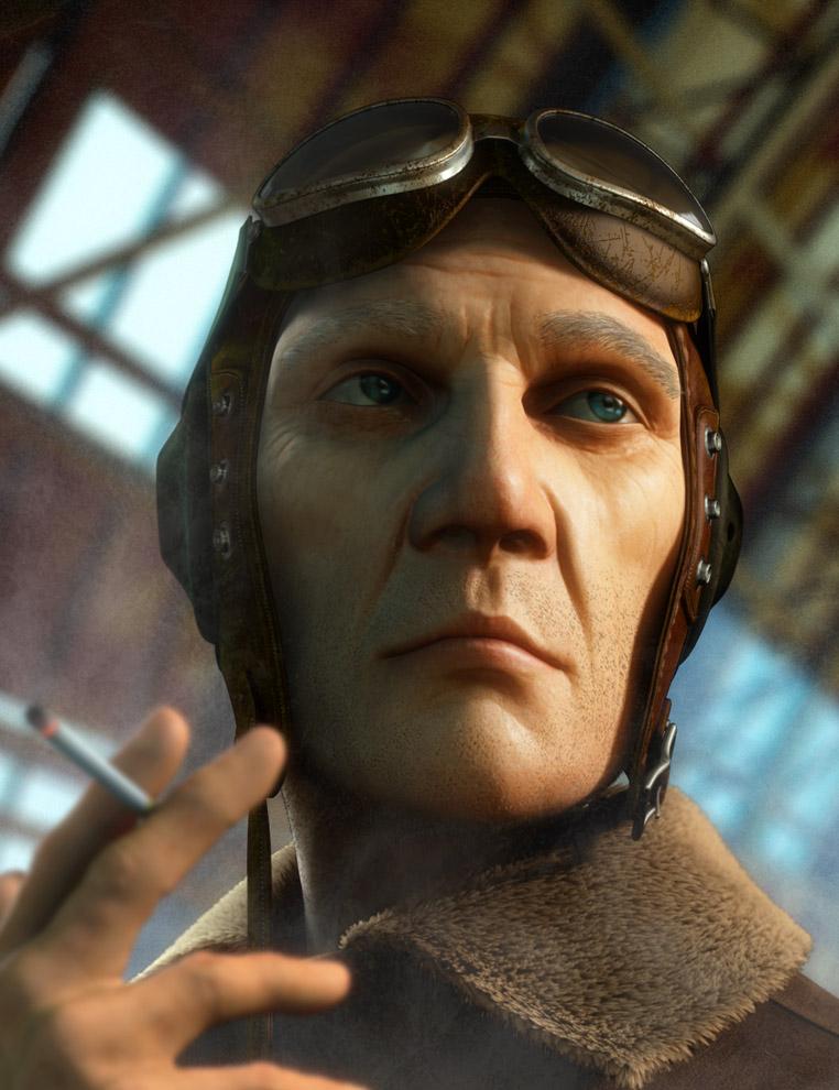 WW2_pilot_final_crop - Interview with MIchor Lu