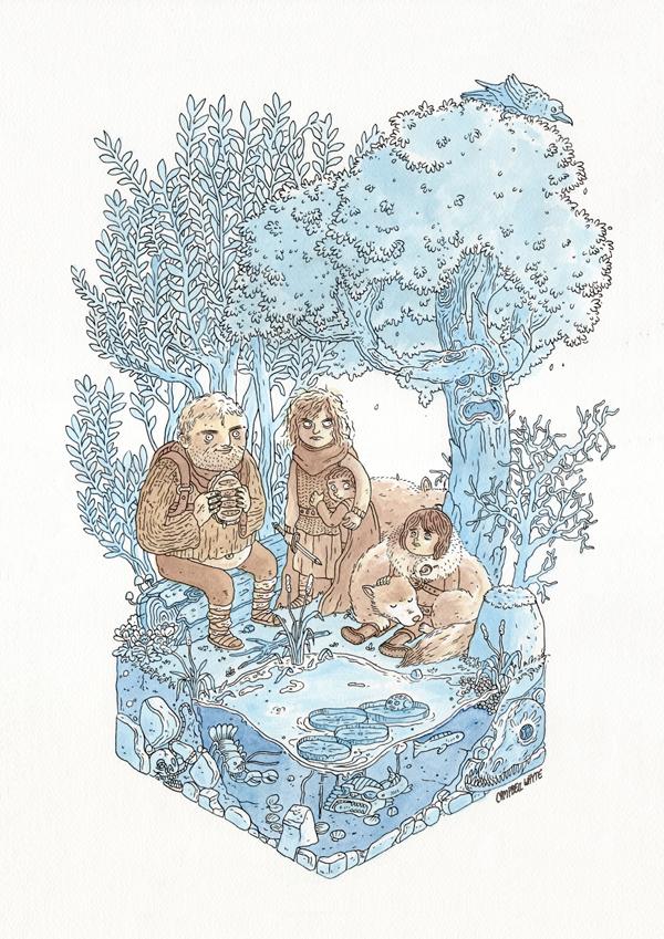 Campbell Whyte Hodor Illustration