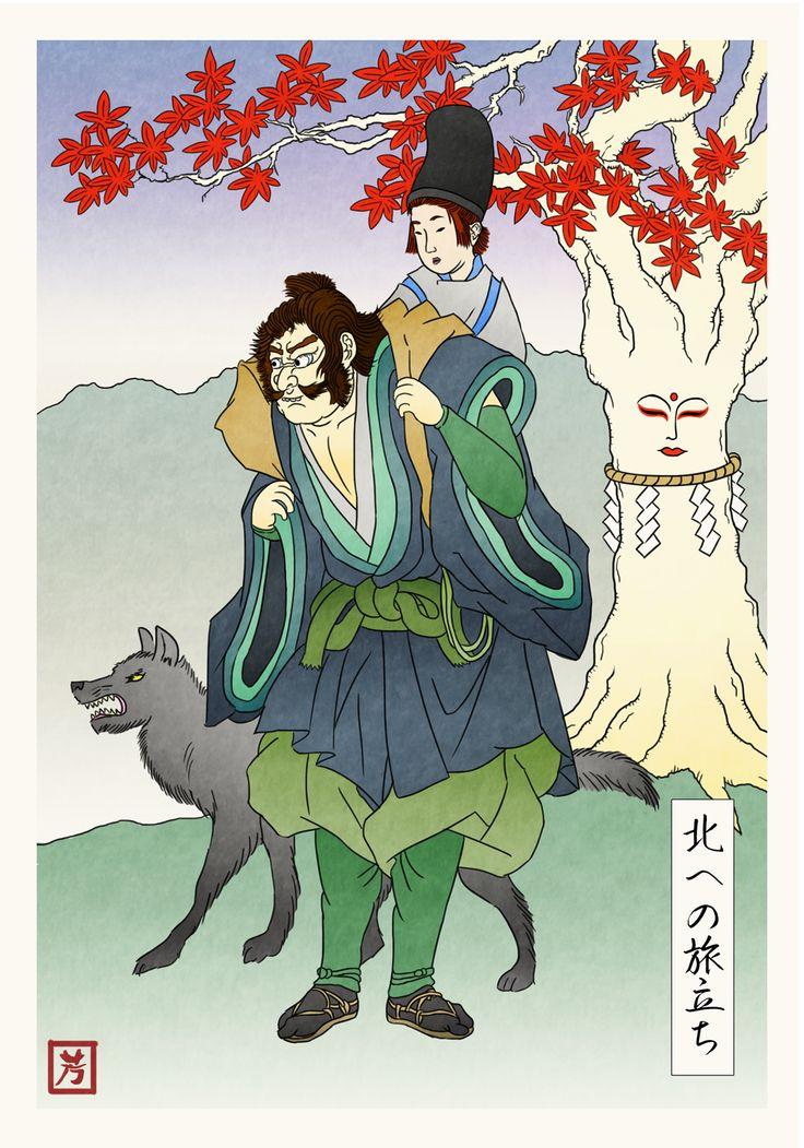 Feudal Japan - Hodor Illustration