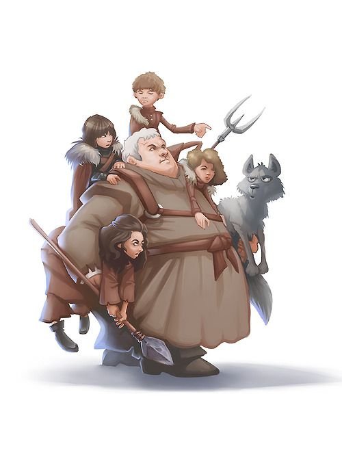 Hodor Illustration Collection