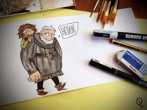 Hodor Illustration