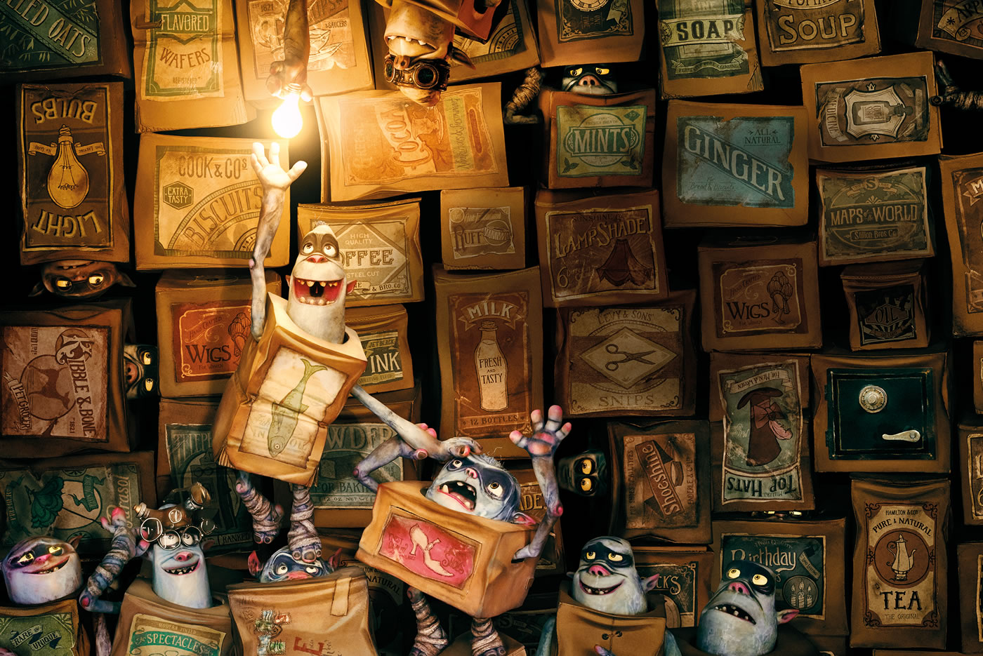 The Boxtrolls Trailer and Behind the Scenes by LAIKA Studios