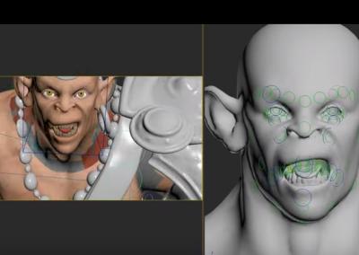 Facial Rig - RealtimeUK
