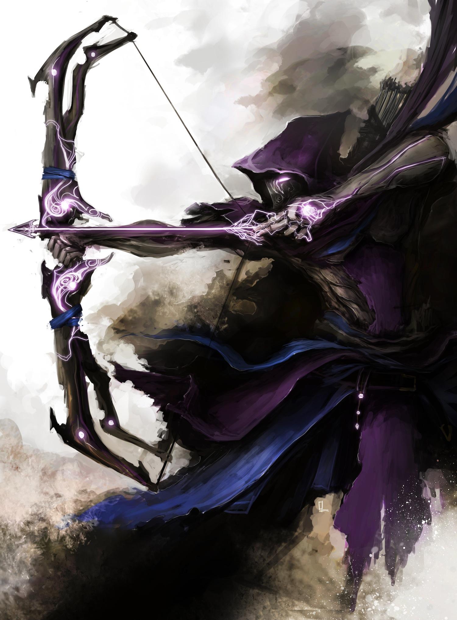 Medieval Avengers__Hawkeye_Pixelsmithstudios