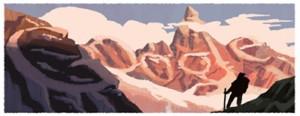 Francisco Pascasio Moreno's 160th Birthday_Google Doodles