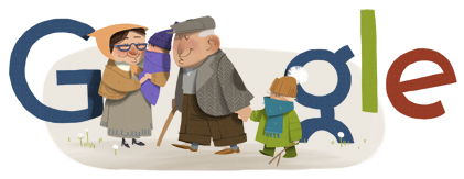 Grandparents' Day 2012_Google Doodles