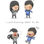 Love is not knowing what to do - HJStory