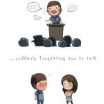 Love is suddenly forgetting how to talk - HJStory
