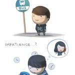 Love is... impatience - HJStory