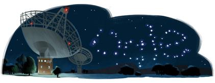 Parkes Observatory's 50th Anniversar_Google Doodles