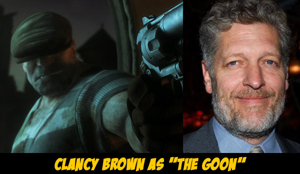 Clancy Brown as the Goon -Animation