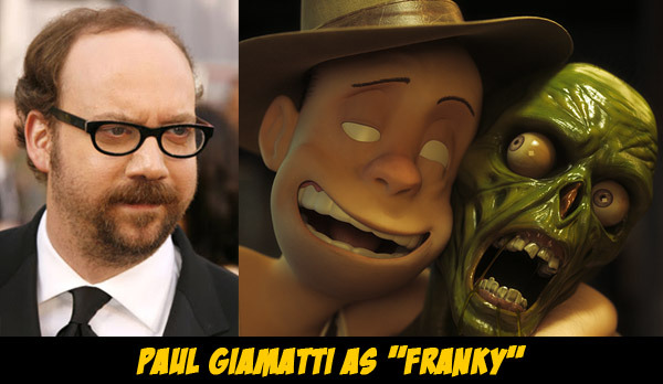 Paul Giamatti as Franky - The Goon - Animation