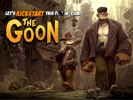 The Goon Movie- Animation-Eric Powell