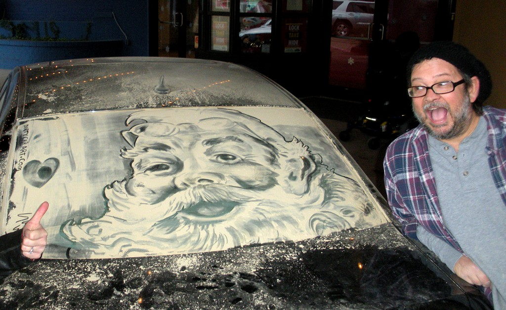 MVOB- Scott Wade - Dirty Car Artist - Honorable Mention