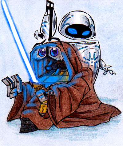 wall_e_and_star_wars_by_xcrazyxforxchibisx