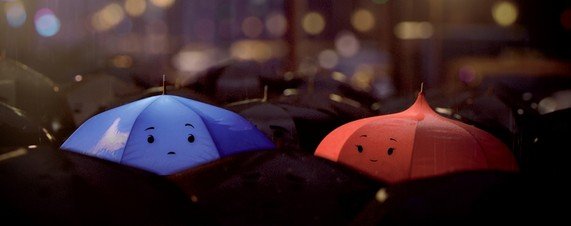 Pixar's 'The Blue Umbrella' Short Animation Film