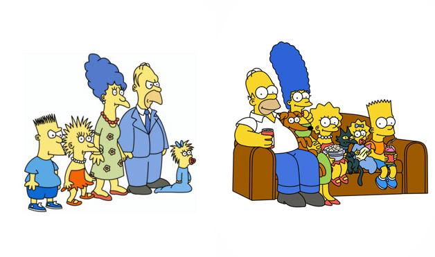 The Evolution of The Simpson's Art: Part One
