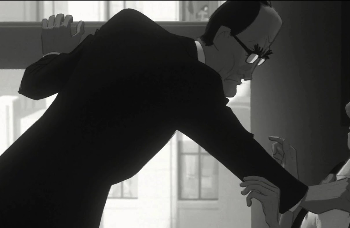 Jeff Turley as the boss - Paperman Disney Short Animation