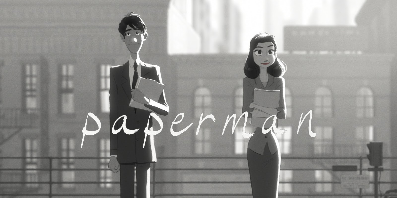 Paperman Disney Short Animation - Directed by John Kahrs