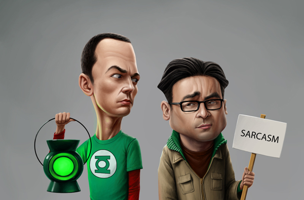Characters Mix Collection by Jenya Tkach - Big Bang Theory
