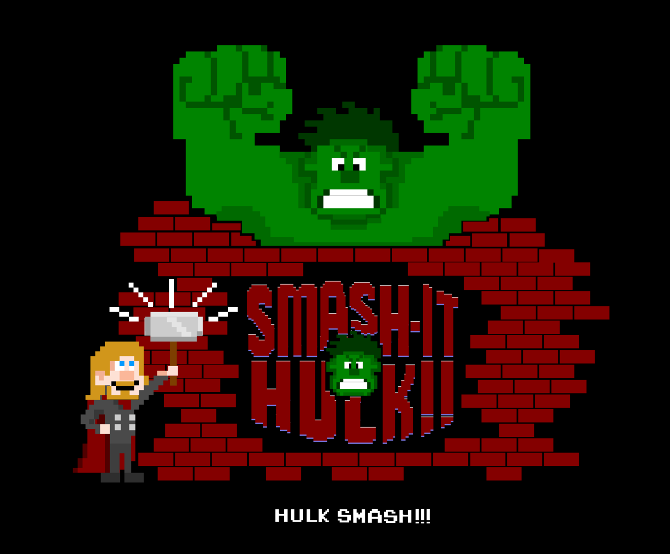 Leigh Lahav - SmashIT Wreck IT Ralph Avengers Mash UP