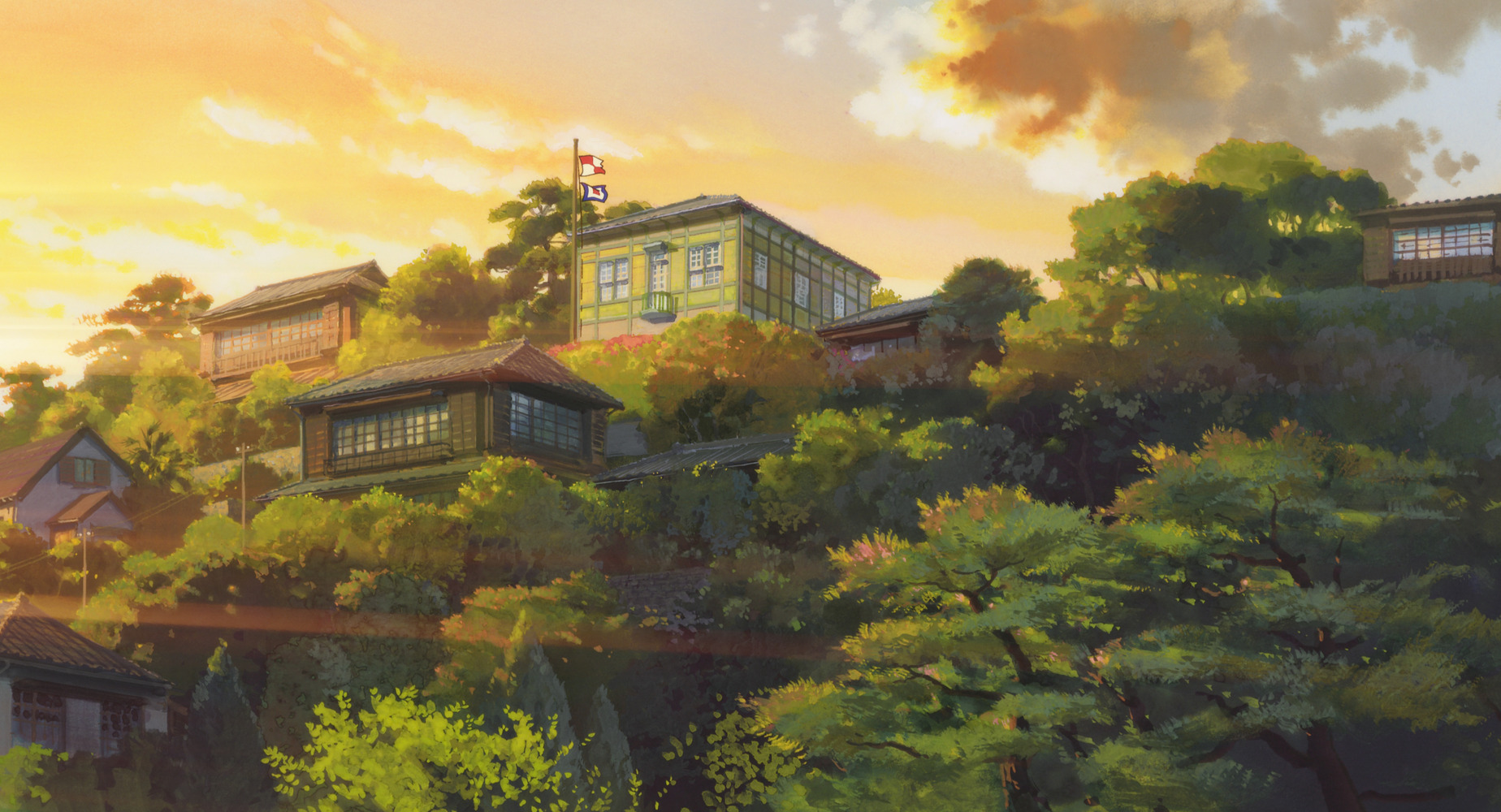 From Up on Poppy Hill - Studio Ghibli Landscape