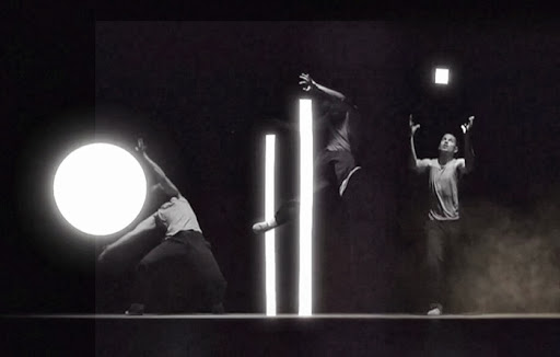 Nuance Dancing with Light by Marc-Antoine Locatelli and Dancer Lucas Boirat