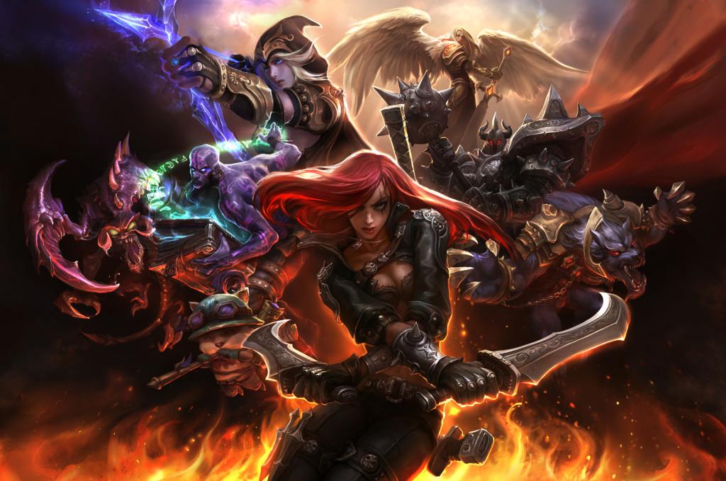League of Legends Game Cinematics History