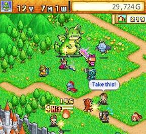 Using Pixel Art In Gaming - Dungeon Village - fighting