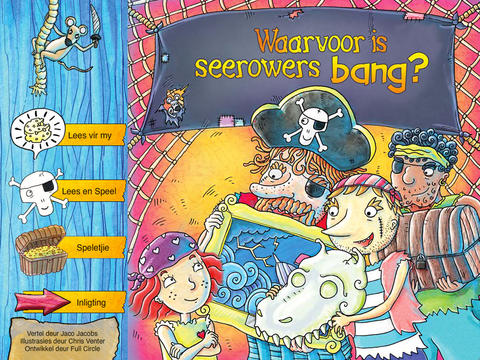 Waarvoor is Seerowers Bang - Interactive Story Book
