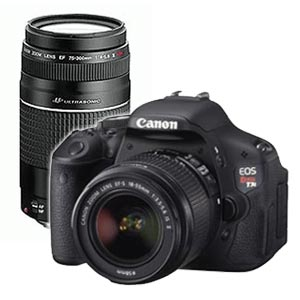 Canon T3I, 18-55 MM and a 75-300 MM lens - Jeremiah Moralez