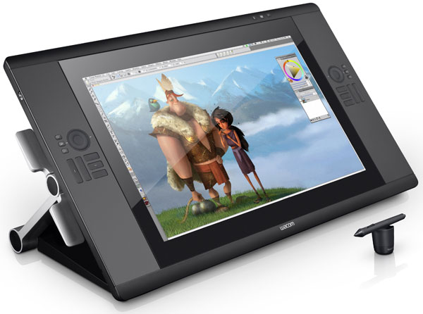 Wacom Cintiq - Mike Scott