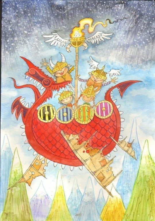 Viking Children - Eric Heyman