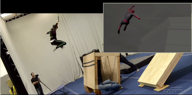 The Amazing Spider-Man 2 Animation Shot Build by Sony Imageworks