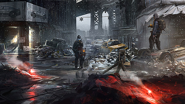 The Division Illustrations 2- Tom Clancy