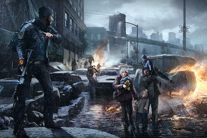The Division Illustrations - Tom Clancy