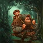 Hodor Illustration by DennisJones
