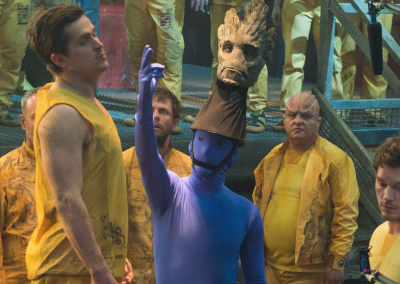 Groot Behind the Scenes Guardians of the Galaxy VFX Visual Effects Breakdown