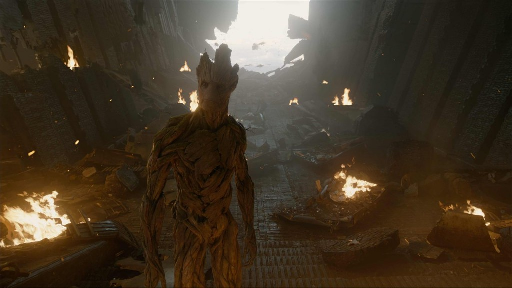 Groot Full Body Guardians of the Galaxy VFX Visual Effects Breakdown