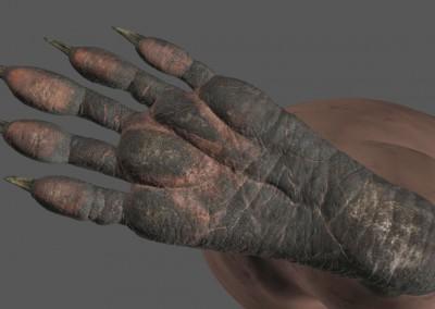 Guardians of the Galaxy VFX Visual Effects Breakdown Rocket Texture Feet