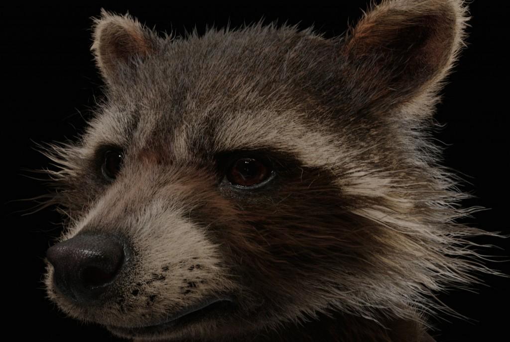 Guardians of the Galaxy VFX Visual Effects Breakdown Rocket Texture Headshot