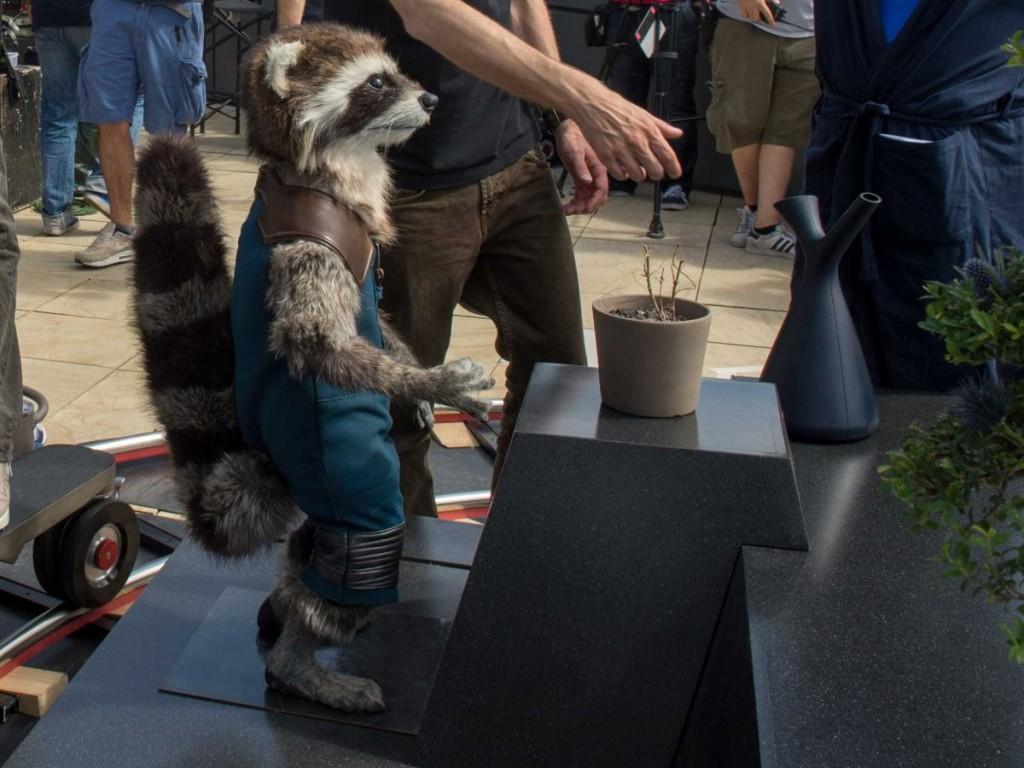 Rocket Raccoon Life size David White